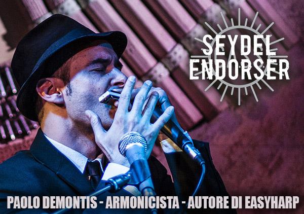 Paolo Demontis armonicista autore di Easyharp
